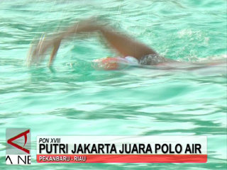 Putri Jakarta Juara Polo Air