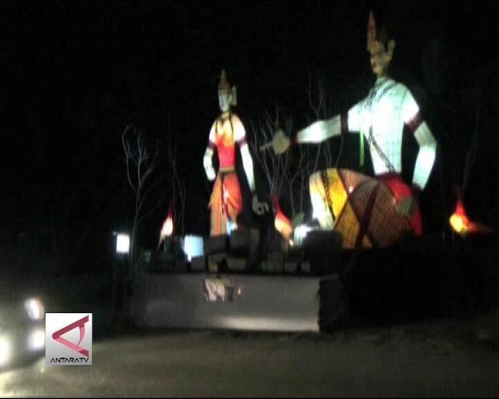 Lampion Mitologi Semarakkan Wisata Kaliurang