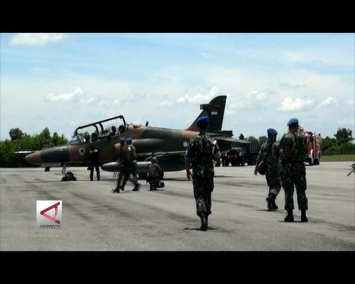 Pangkalan TNI AU Riau Patroli di Laut Natuna
