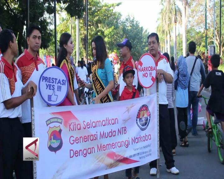 Kampanye Bebas Narkoba Sasar Pengunjung Taman