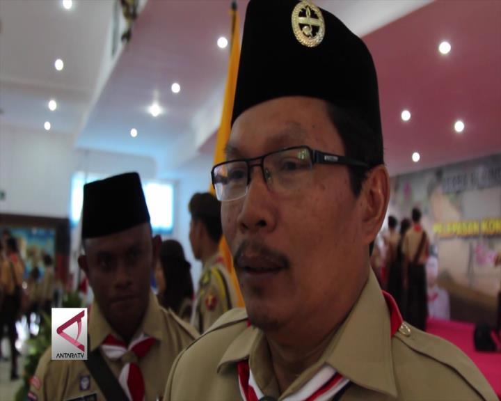 Gubernur NTB Lepas Anggota Pramuka  Jamnas X