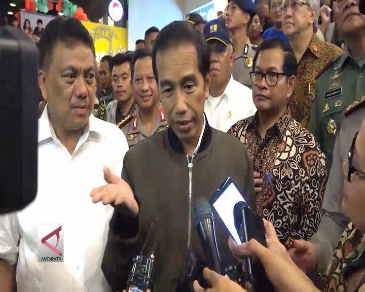 Perayaan Natal Aman, Presiden Apresiasi TNI Polri