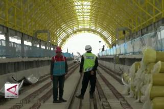 LRT Palembang  Diuji Coba Februari 2018