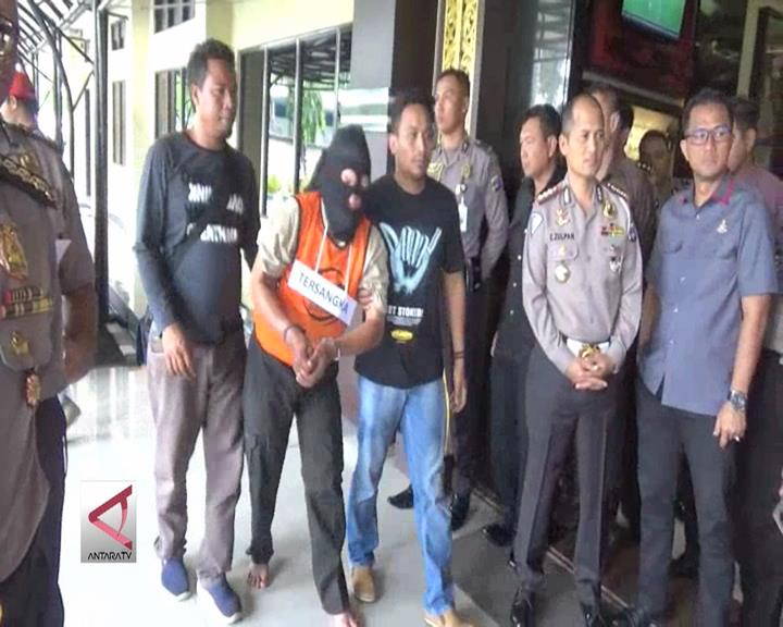 Polisi Tangkap Begal Sadis Lintas Provinsi