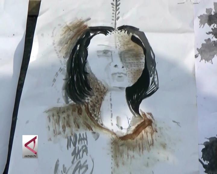 Lukisan Cete Meriahkan Nyepi di Probolinggo
