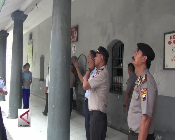 Antisipasi Tahanan Kabur, Polisi Periksa Lapas
