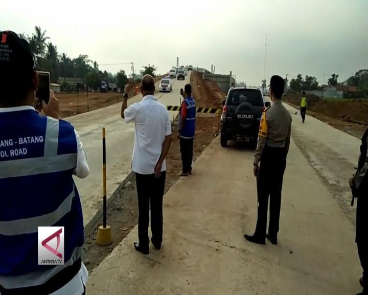 Tol Exit Bojong Dibuka Untuk  Arus Balik