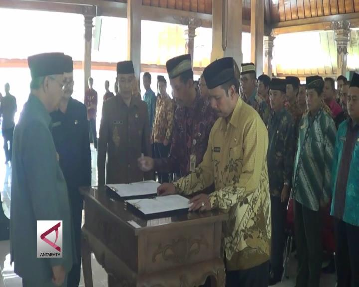 Bupati Temanggung Lantik 125 Pejabat Isi Kekosongan