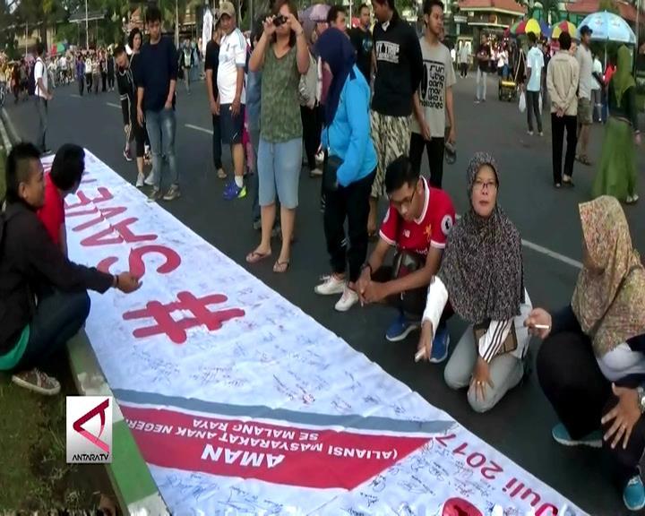 Ribuan Tanda Tangan Warga Malang untuk KPK