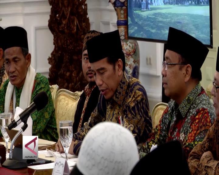 Presiden Bertemu Ulama Kalbar di Istana