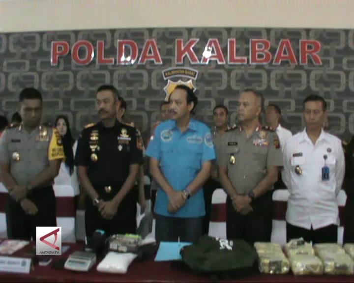 BNN Tangkap Pengedar Narkotika 17Kg Sabu Asal Malaysia