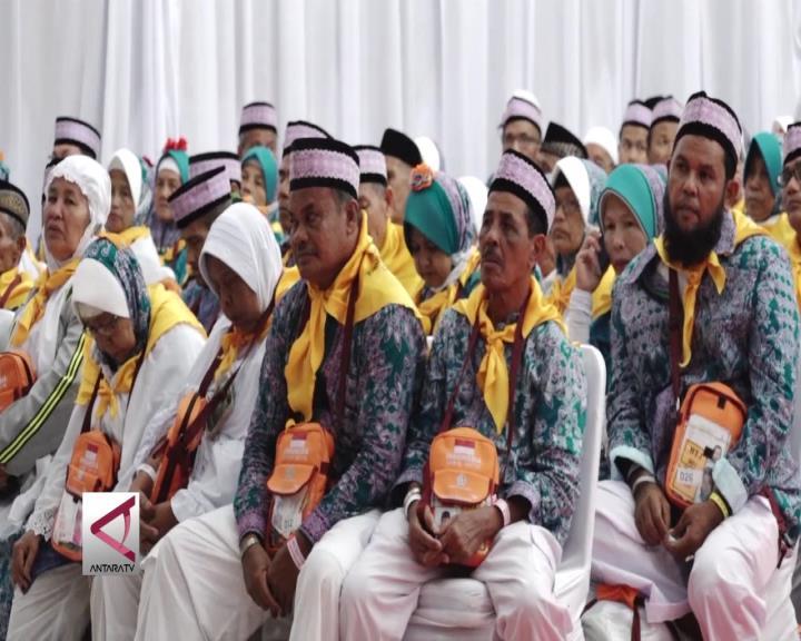 Kloter Pertama Jamaah Haji Asal Aceh Diberangkatkan