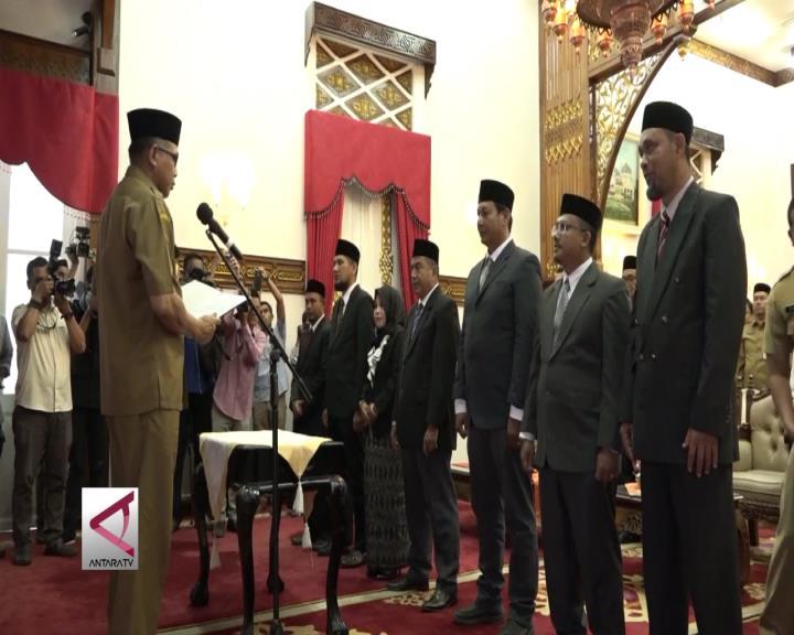 Wagub Lantik Anggota KPI Aceh