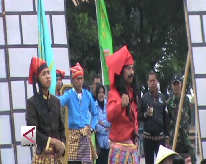 TNI Tampilkan Sosio-Drama Karaeng Bontomarannu