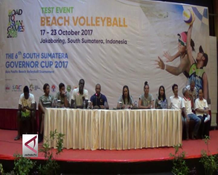 Tim 13 Negara Ikuti  Test Event Voli Pantai