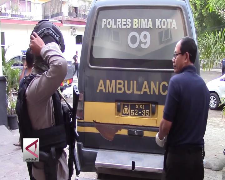 Dua Jenazah Terduga Teroris Tiba di RS Bhayangkara