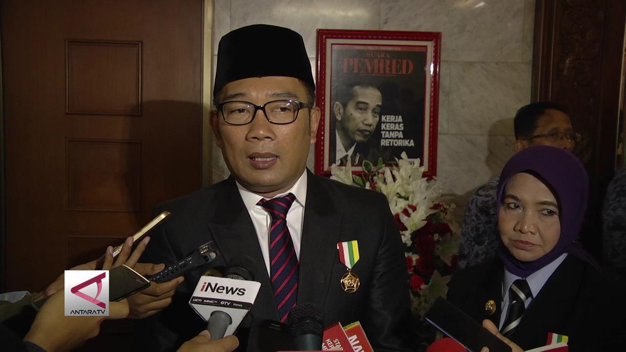 Ridwan Kamil Serahkan Parpol Pengusung Memilih Balon Wagub