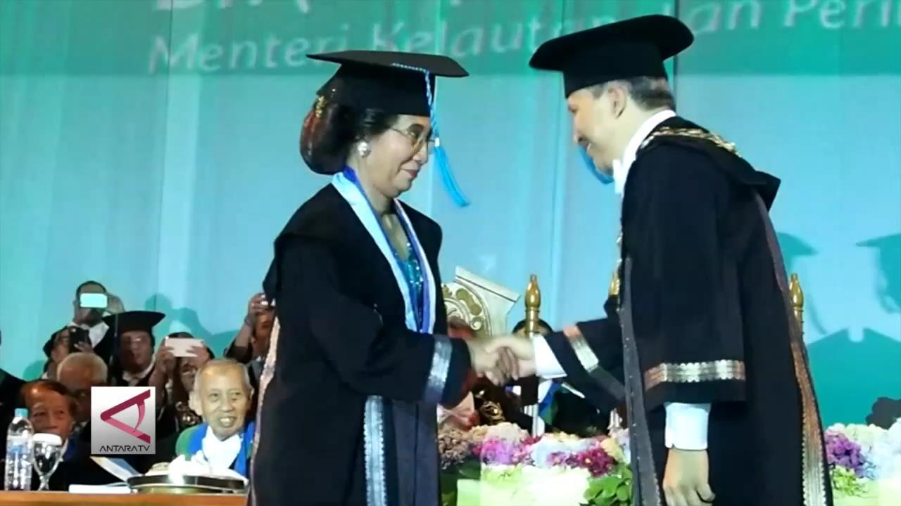 Gelar Doktor Kehormatan untuk Menteri Susi dari ITS