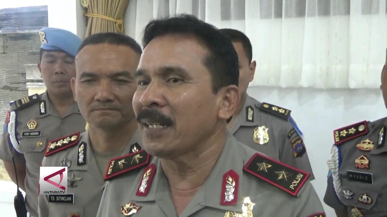 Polisi Tangkap Pembakar Mapolres Dharmasraya