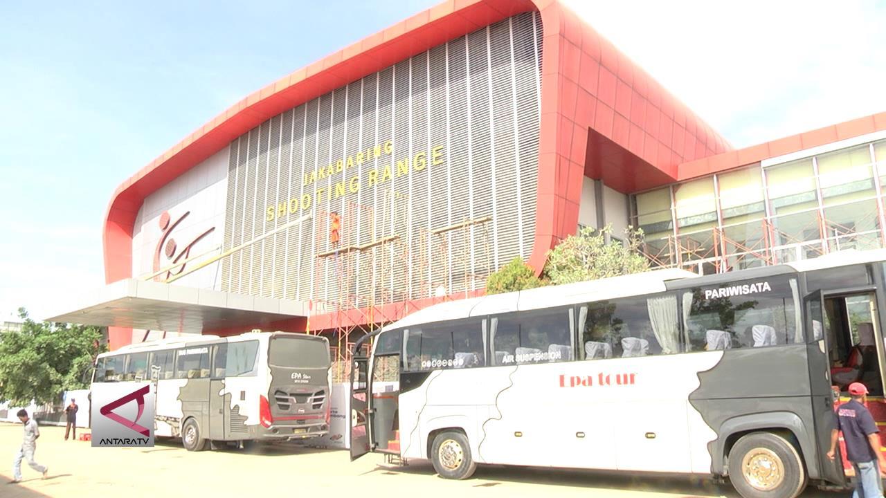 Renovasi Stadion Menembak Jakabaring Capai 90 Persen