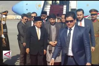 Wapres RI kunjungi Afghanistan bahas perdamaian