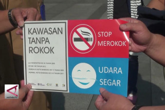 Pemkot Bandung bentuk satgas kawasan tanpa rokok