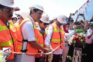 Menteri BUMN resmikan kapal curah batubara