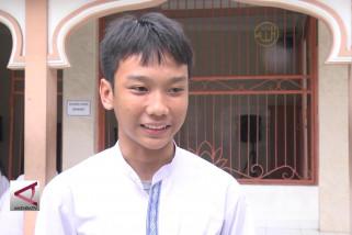 Siswa SMP Jakarta Siap Hadapi UNBK