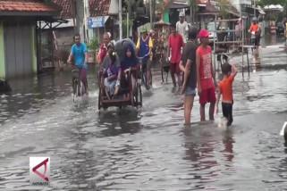 Korban banjir rob di Pekalongan capai 6000 jiwa