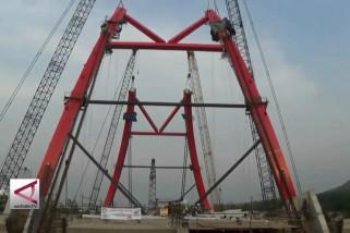 Jembatan Tol Kalikuto capai 78 %
