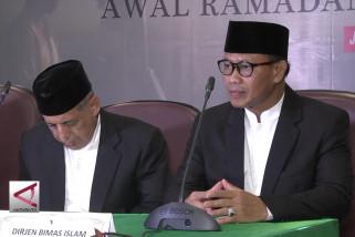 Pemerintah tetapkan 17 Mei 2018 awal Ramadhan 1439 H