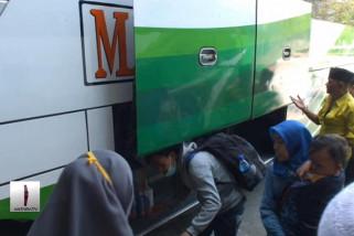 Pemudik masih minati bus umum