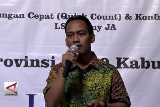 Hitung Cepat LSI Denny JA menangkan Ridwan-UU di Pilgub Jabar