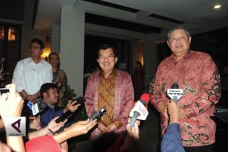 Wapres bersilaturahmi lebaran dengan Presiden Ri ke 6