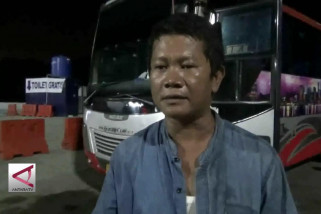Pemudik apresiasi keberadaan shuttle bus di Pelabuhan Merak