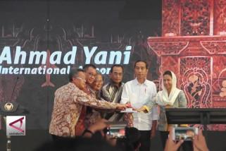 Presiden resmikan Terminal Baru Bandara Ahmad Yani Semarang
