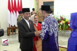 Presiden Jokowi Gelar Open House di Istana Bogor