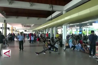 Puncak arus balik di Bandara Internasional Minangkabau