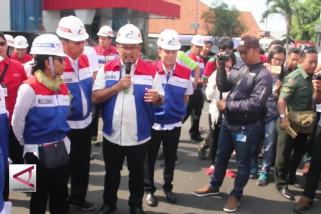 Menteri BUMN pantau kesiapan Pertamina hadapi mudik lebaran 2018