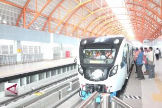 6 Stasiun LRT Palembang siap beroperasi