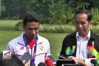 Pesan Presiden Jokowi untuk Zohri