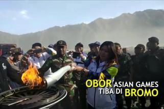 Inasgoc berharap api Asian Games semangati Bromo