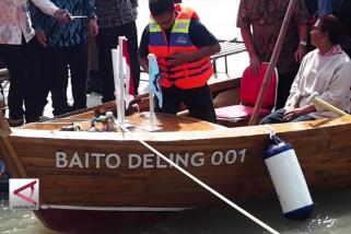 ITS kenalkan kapal berbahan bambu
