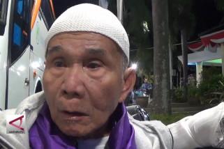 Jamaah calon haji kloter 70 Majalengka diberangkatkan