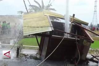 Dinas ESDM Jatim teliti air sumur yang menyembur