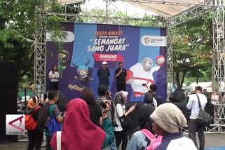 Pesta rakyat untuk sambut Asian Games 2018