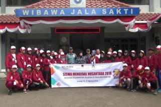 BUMN Hadir - Sambangi LANAL Banten SMN Dibekali Pemahaman Bela Negara