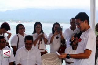 Bacawapres Sandiaga Uno ingin pasar rakyat maju dan bersaing