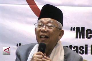 Ma'ruf Amin: Pancasila titik temu dan UUD 1945 kesepakatan nasional