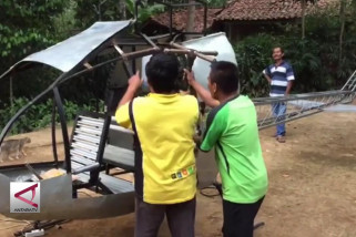 Helikopter BBM premium buatan warga Sukabumi